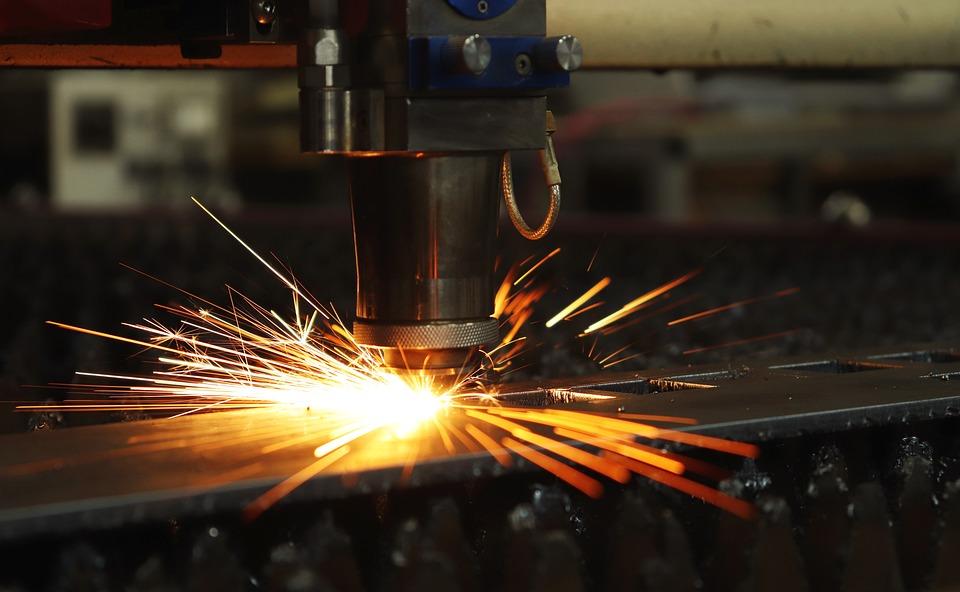 Laser, Spark, Flash, Production, Iron, Details, Metal