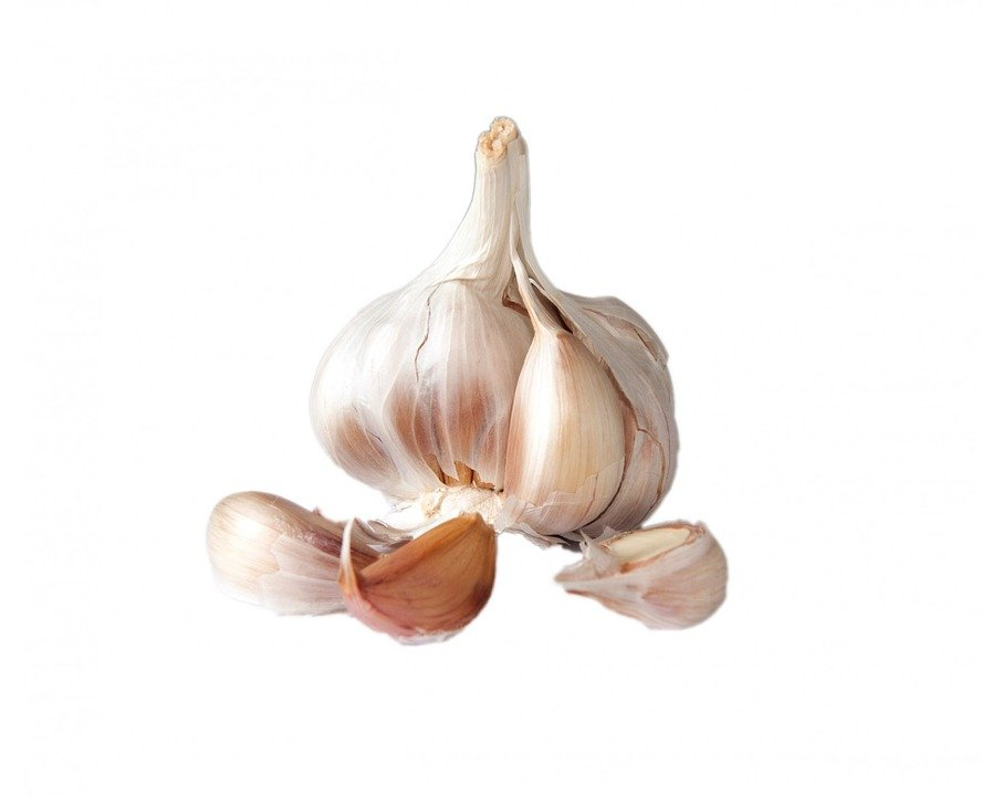 Garlic, Bulb, Clove, Cloves, Skin, Close-up, Details