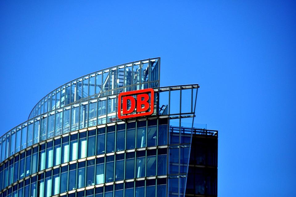 Deutsche Bundesbahn, Logo, Emblem, Home, Building