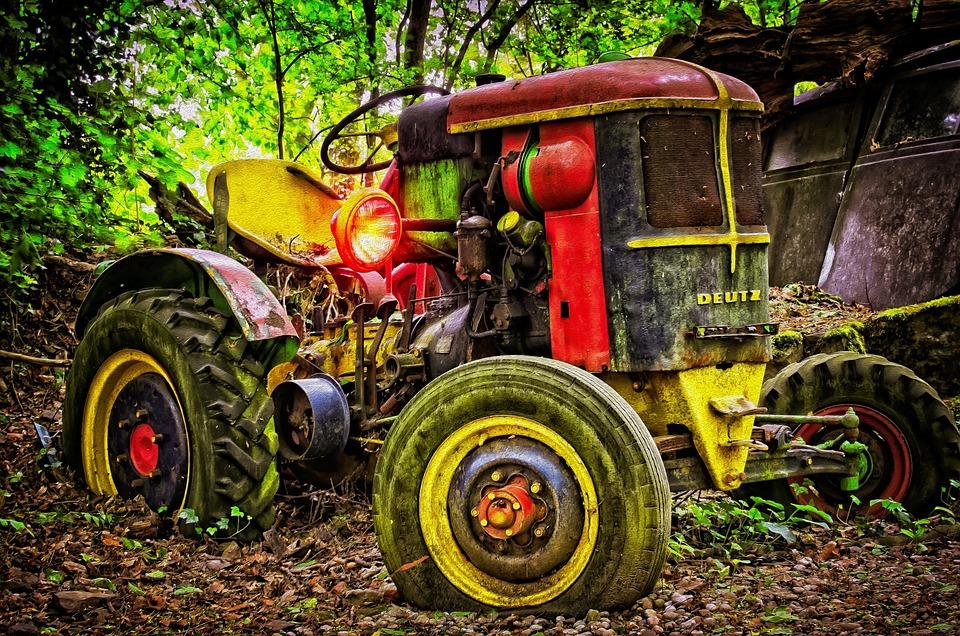 Tractor, Deutz, Cologne, Lost Place, Tractors, Oldtimer