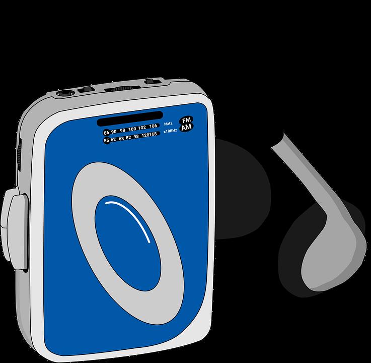 Audio, Blue, Cassette, Classic, Device, Disco
