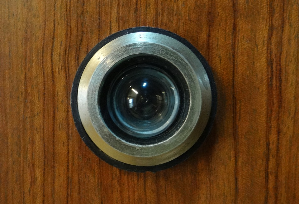 Magic Eye, Peephole, Door, Device