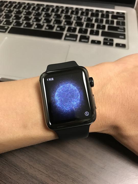 Apple Watch, Device, Electronic Clock, Hand, Brand