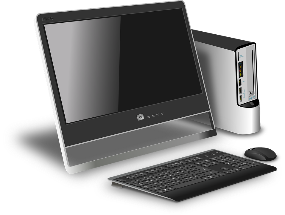 Computer, Desktop, Modern, Device, Hardware, Keyboard
