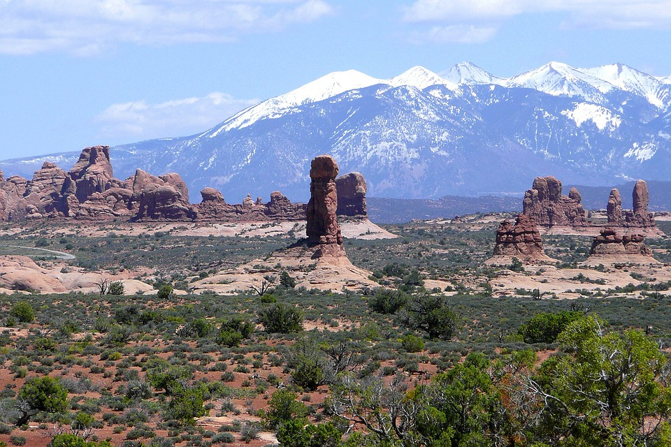 Devil's Garden, Arches National Park, Utah, Usa