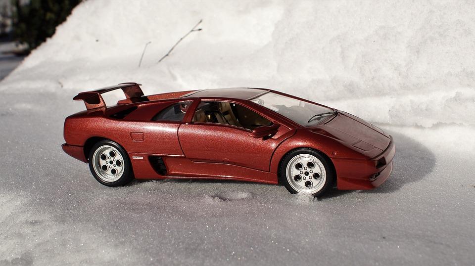 Model Car, Lamborghini, Diablo, Vehicles, Model