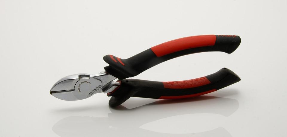 Pliers, Tool, Diagonal Cutting Pliers, Metal, Craft