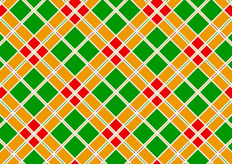 Colorful, Color, Pattern, Diamonds, Diamond, Red