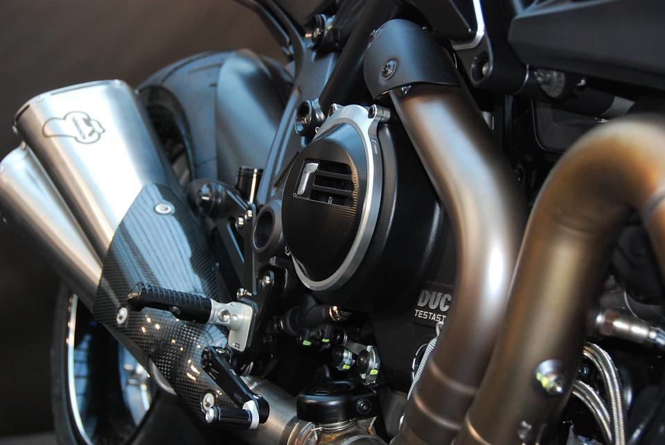 Ducati, Diavel, Motorcycle, Motor, Exhaust, Technology