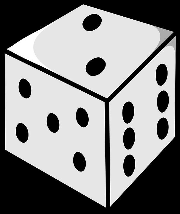 Dice, Numbers, Roll, Two, Gamble, Gambling, Cube, Die