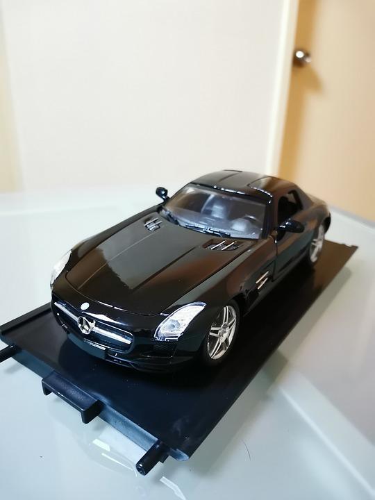 Diecast, Mercedes Benz, Sls Amg, Car