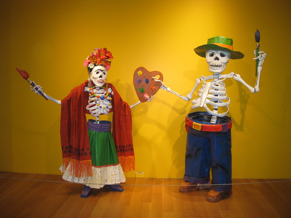 Day Of The Dead, Frida Kahlo, Diego Rivera