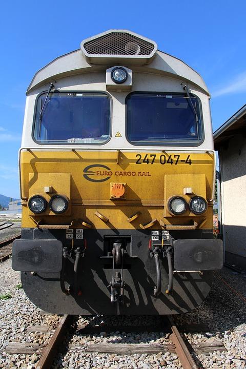 Locomotive, Diesel Locomotive, Railway, Transport
