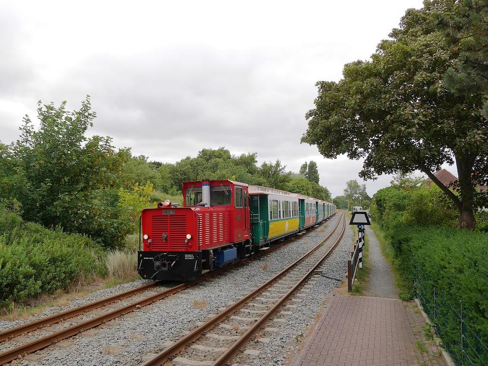 Borkum, Small Ground, Island Railway, Diesel Locomotive