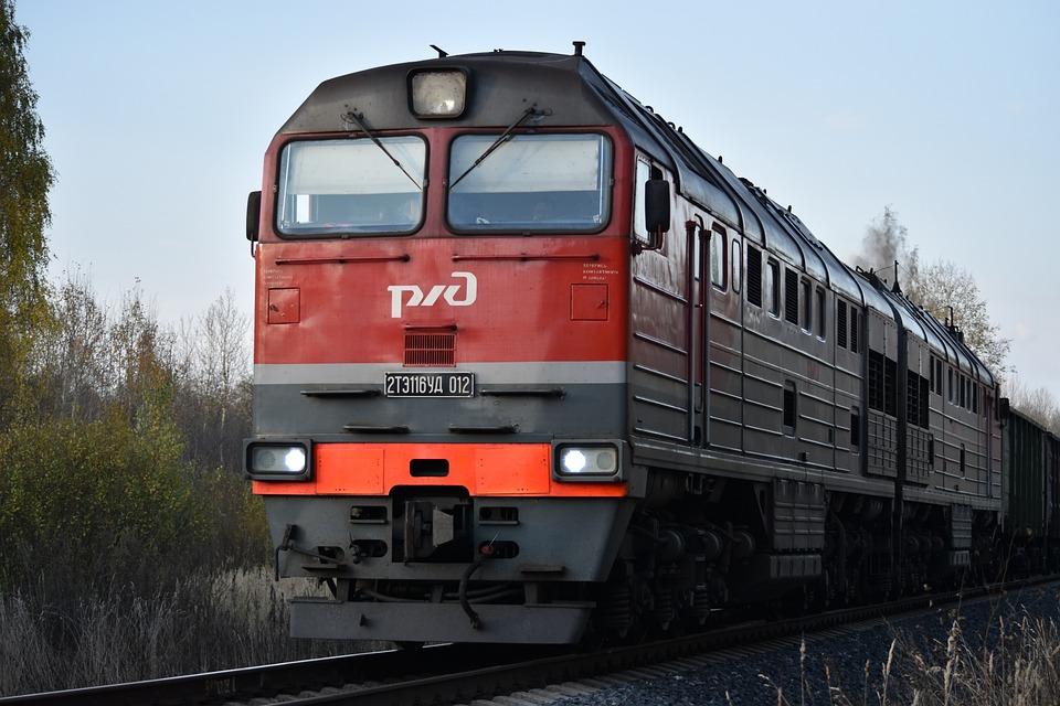 Nature, Technique, Diesel Locomotive