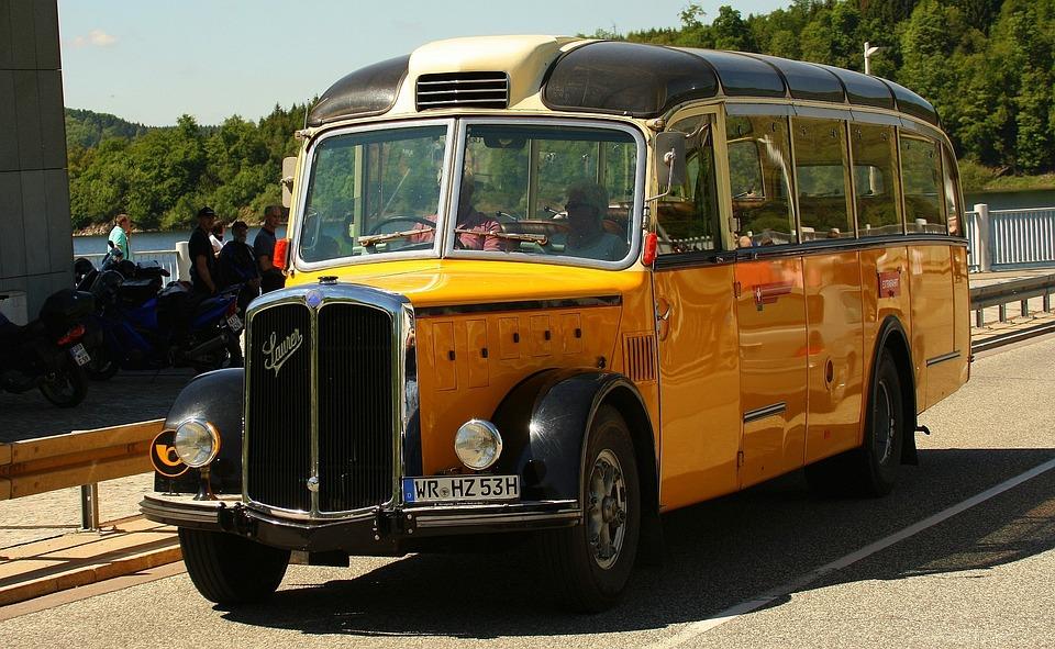 Acid, Bus, Diesel, Oldtimer, Post Cars