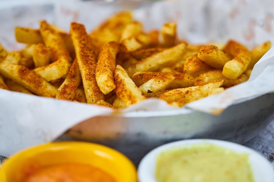 Potato, Frying, Yellow, Unhealthy, Obesity, Diet