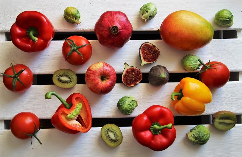 Mango, Kiwi, Fruit, Fresh, Food, Paprika, Diet, Bio