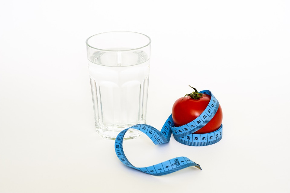 Tape, Tomato, Glas, Diet, Water, Drinking, Health