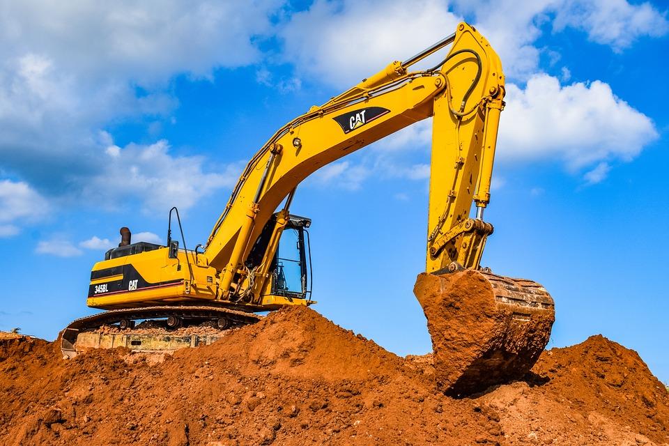 Digger, Heavy Machine, Equipment, Excavator, Vehicle