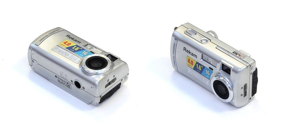 Digital Camera, Rekam X 4, Compact, Digital, Camera