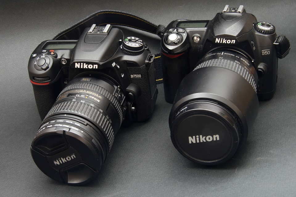 Nikon, Camera, Digital, Photography