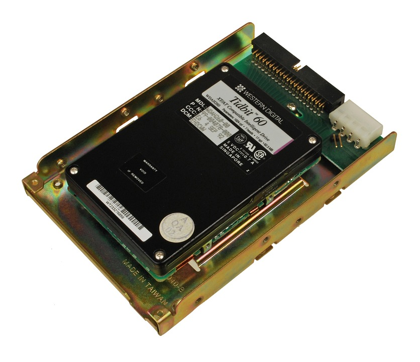 Open Hard Drive, Digital, Memory, Storage Hardware