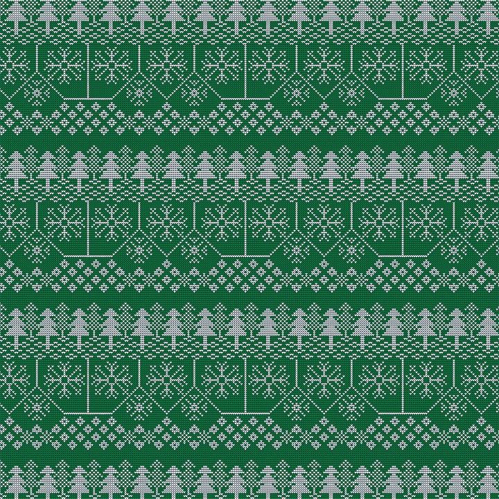 Christmas Knit, Digital Paper