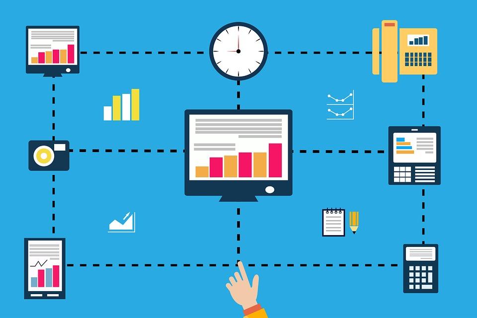 Computer, Process, Technology, Digital, Internet, Flow