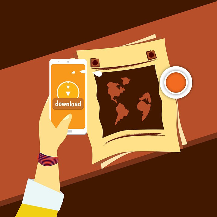 Download Data, Digital World, Mobile Application