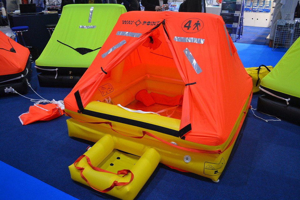 Life Raft, Lifeboat, Inflatable, Dingy, Rescue, Raft