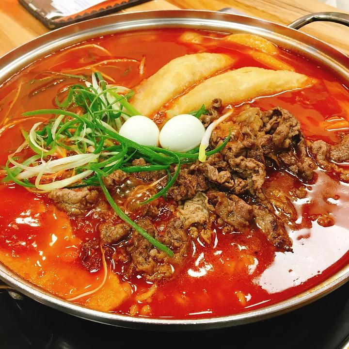 Toppokki, Food, Korean Food, Korean, Dining, Asian