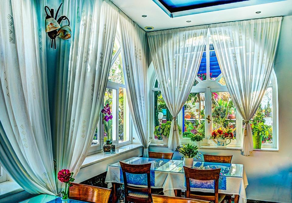 Dining, Beautiful, Interior, Decoration, Luxury, Room