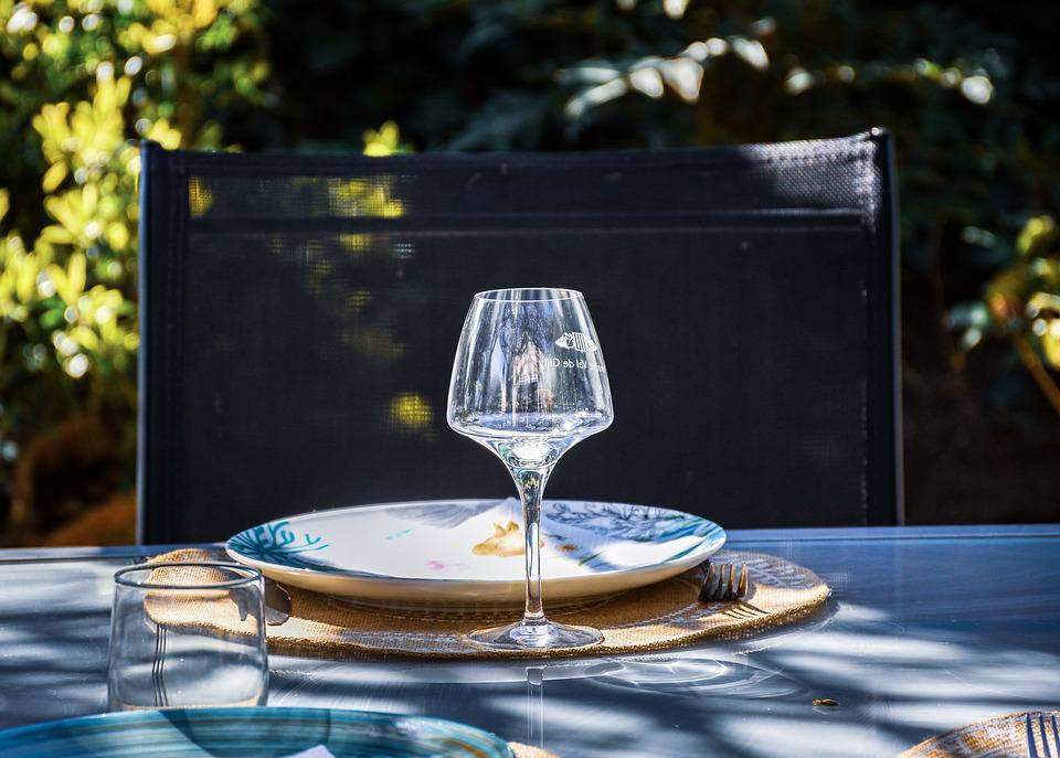 Wineglass, Table, Setting, Dining, Silverware, Banquet