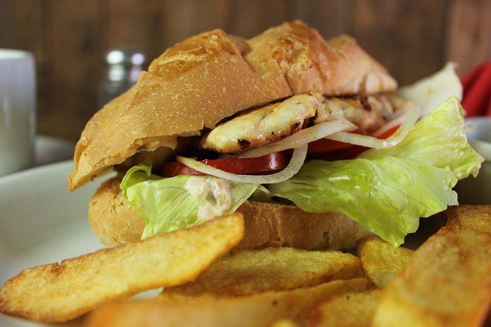 Food, Meat, Lunch, Snack, Dinner, Bread, Vegetable