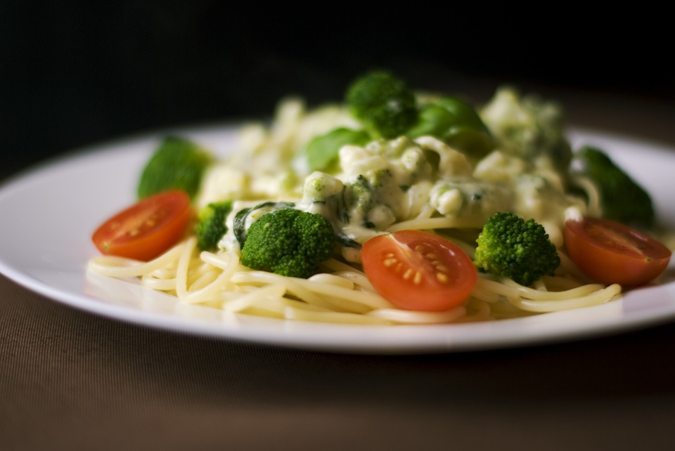 Pasta, Meal, Cuisine, Dinner, Lunch, Broccoli, Tomatoes