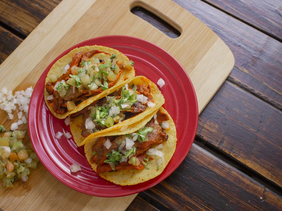 Tacos, Meat, Food, Mexican, Lunch, Dinner, Cuisine