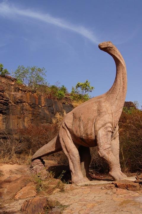 Dinosaur, Mali, Bamako, Sky, Radius, Giant