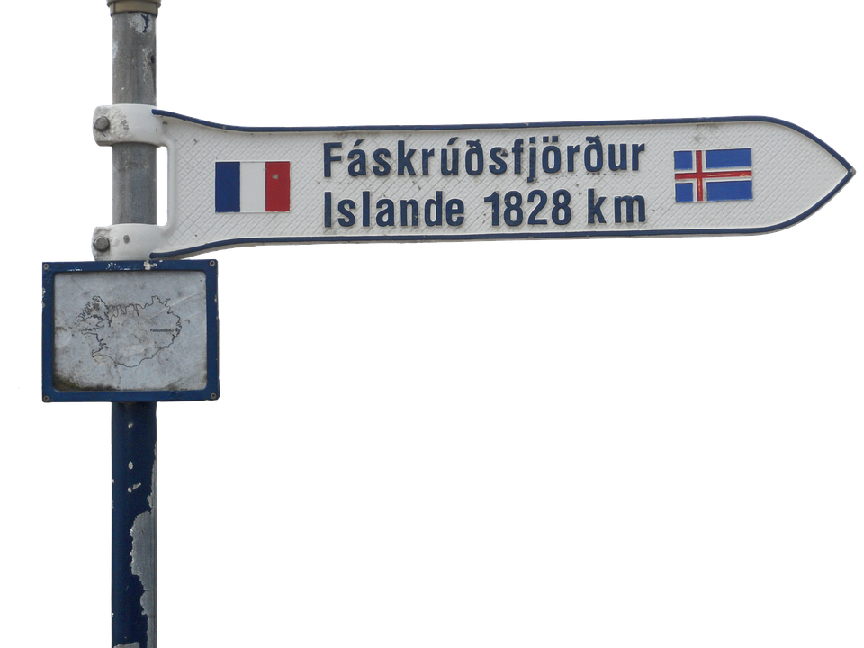 France, How To Get Here, Iceland, Pole, Direction