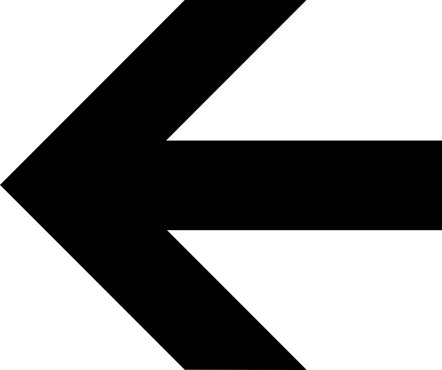 Left, Arrow, Direction, Information, Side, Sign, Symbol
