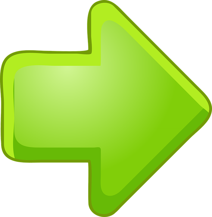 Arrow, Direction, Symbol, Graphical, Green, Right