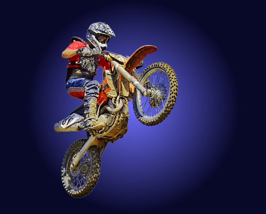 free photo dirt bike motor motocross stunt motorcycle crosser max