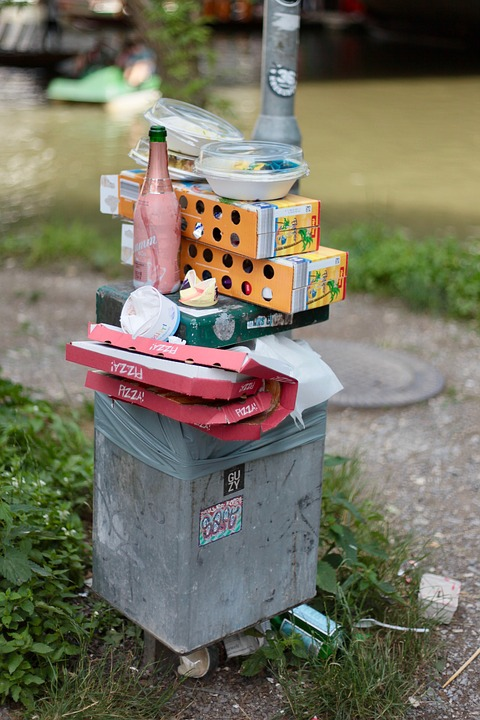 Garbage, Garbage Can, Pollution, Dirt, Plastic