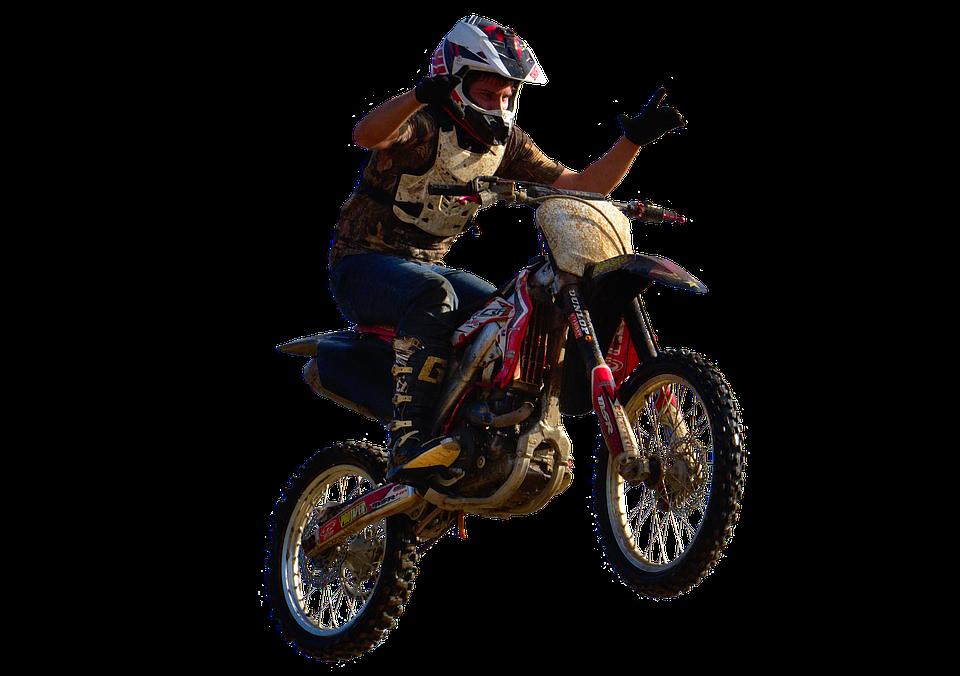 Motocross, Stunt, Freestyle, Dirtbike, Transparent
