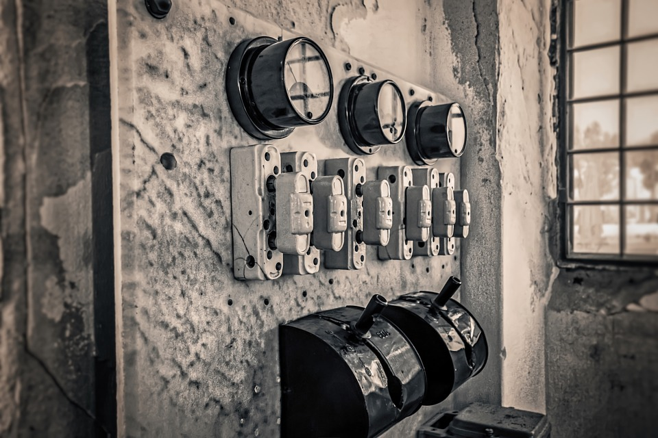 Control Panel, Old, Retro, Dirty, Obsolete, Vintage