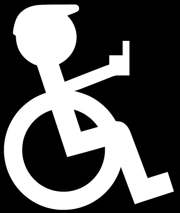 free photo disabled disability pictogram lame logo wheelchair max rh maxpixel net disable logon password disable logons teradata