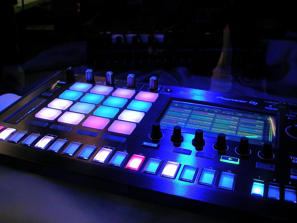 Dj, Music, Disco, Technical Device, Nightclub