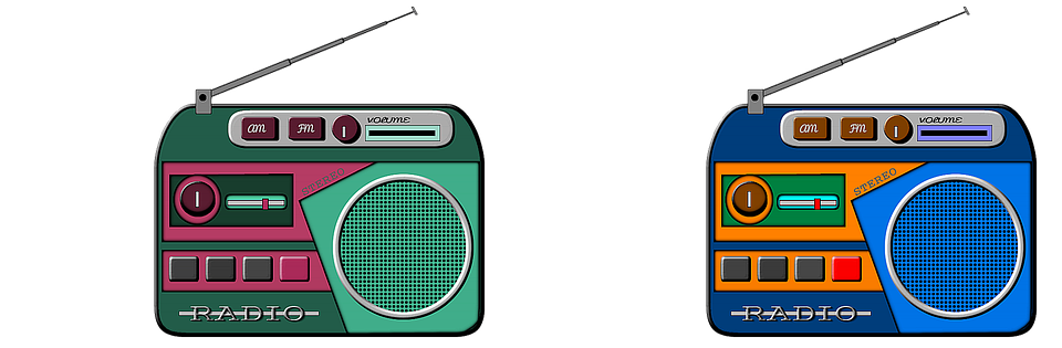 Radio, Stereo, To Listen, Frequency, Vintage, Disco