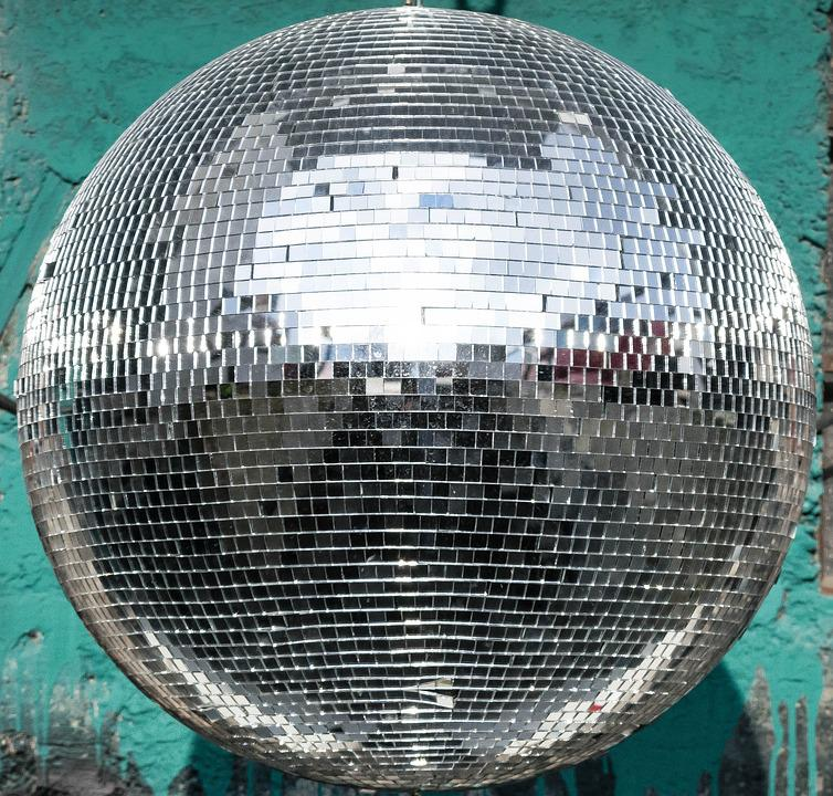 Ball, Disco, Reflection, Lichtspiel, Party, Mirroring