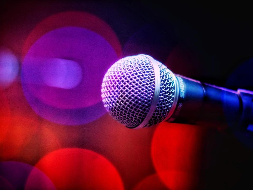 Sound, Music, Microphone, Voice, Disco Music